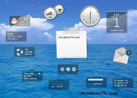 calendario para escritorio windows 7 lindos gadgets utiles para windows 7 gadgets y programas