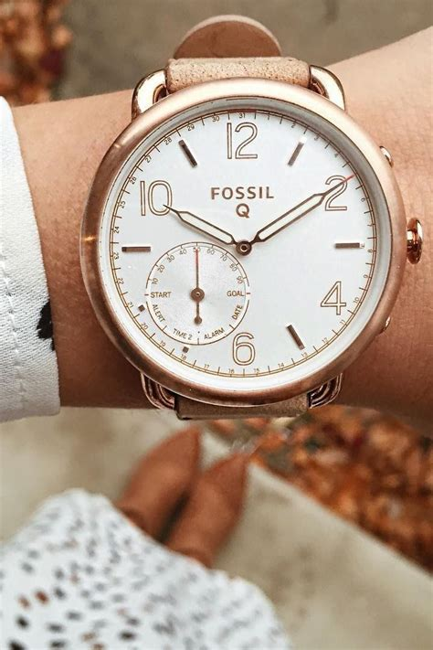 Top Fossil Es4048 Tailor White Rosegold Krem Leather Awet Gaul K 527 best images about fossil q smartwatches on