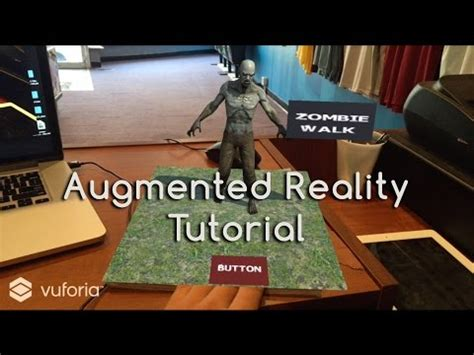 unity tutorial virtual reality vuforia videolike