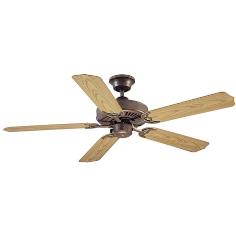 lowes outdoor ceiling fan shop litex all weather 52 in copperstone outdoor downrod