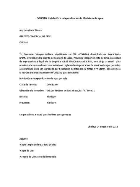 solicitud a epsel