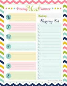 weekly dinner planner template weekly meal planner free printable time management tips printable weekly meal planner template