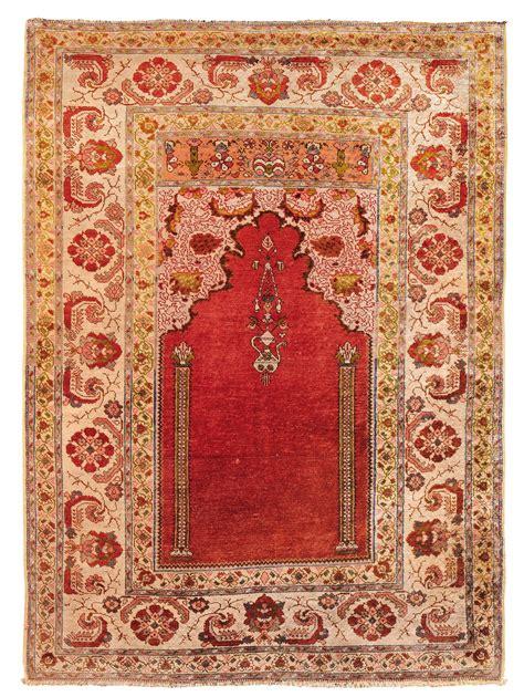 tappeto anatolico tappeto anatolico ghiordes xix secolo a preghiera