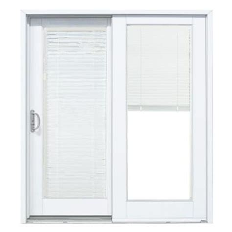 Masterpiece 72 In X 80 In Composite Left Hand Smooth Home Depot Sliding Glass Patio Doors
