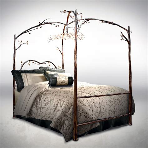 Forest Canopy Bed Frame Forest Canopy Bed Beautiful Copper And Ps