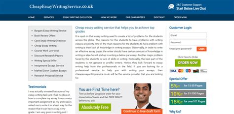 Cheap Essay Writing Service Review by 4 1 10 Cheapessaywritingservice Co Uk Review Best Essays