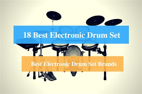 best electronic drums 18 best electronic drum set reviews 2018 best electronic
