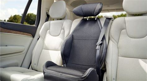 child seat padded upholstery  integrated booster cushions xc