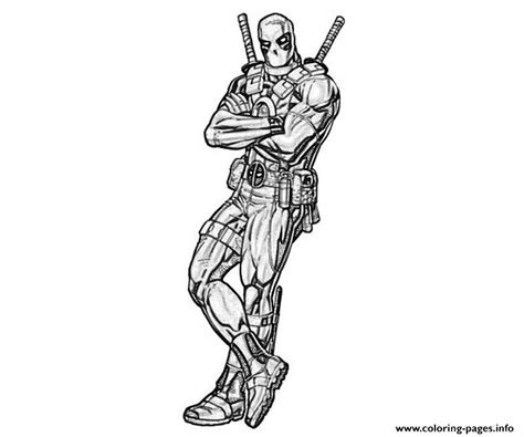 deadpool coloring book deadpool drawing coloring pages printable