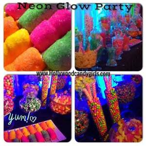 Cotton Candy Table Decorations 1000 Ideas About Neon Party Themes On Pinterest Neon