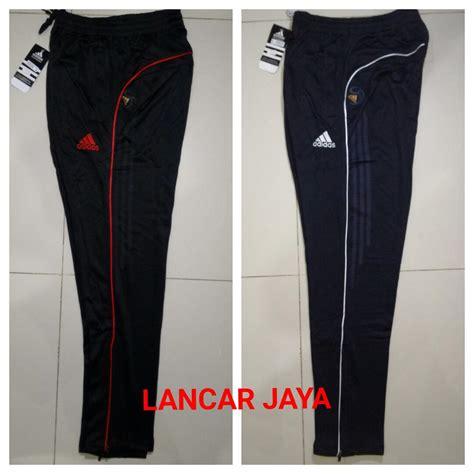 Celana Panjang Adidas Lokal 3 jual celana slimfit adidas import panjang lis kecil baru celana panjang pria
