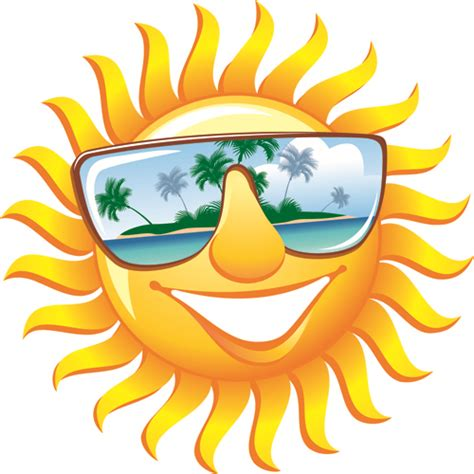 Summer Sun by Elements Of Summer Sun Vector 03 Free