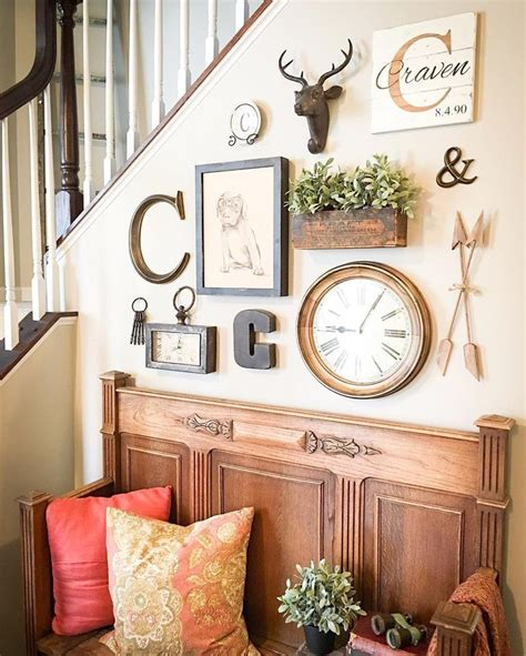 how to decorate a large wall in living room 5 best 25 best ideas about rustic gallery wall on pinterest
