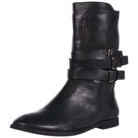 nine west nine west womens sorbie boot in black black