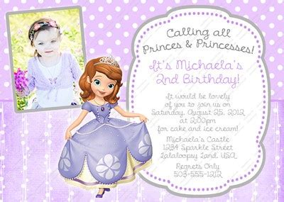 Princess Sofia Invitation Card Template by 165 Best Images About Princess Sofia Cakes Ideas On