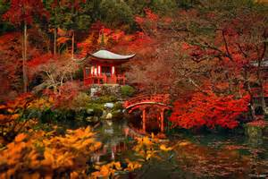 Pagoda Landscape Lights - red velvet full hd fond d 233 cran and arri 232 re plan