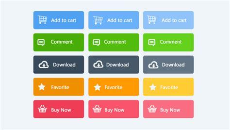 Button Flat flat design no layout de e mail marketing dinamize