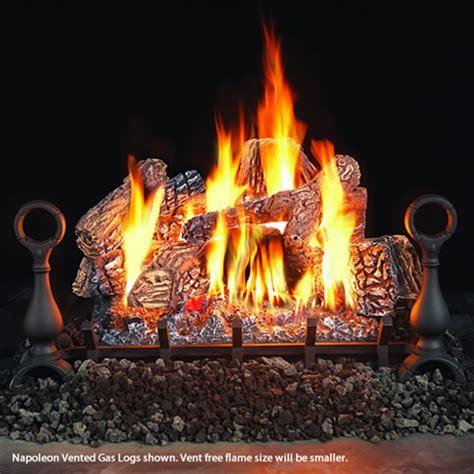 fireplace ceramic logs napoleon fiberglow ventless ceramic gas log set 18 quot woodlanddirect log sets gas