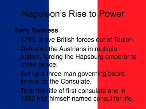 napoleon bonaparte biography ppt ppt napoleon bonaparte powerpoint presentation id 1247765