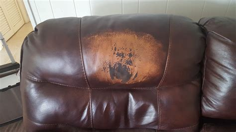 leather sofa damage repair yes leather sofa repair is an option