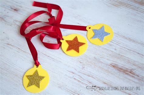 imagenes medallas infantiles medallas para ni 241 os manualidades infantiles