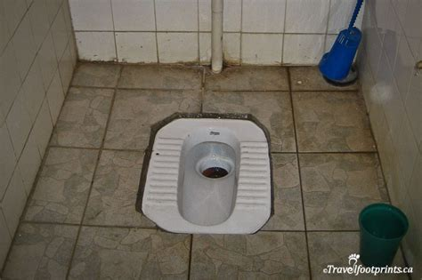 Toilet In The Floor by Tips And Guide To Using The Squat Toilets In China