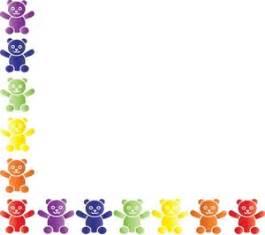 bear clipart image teddy bear border