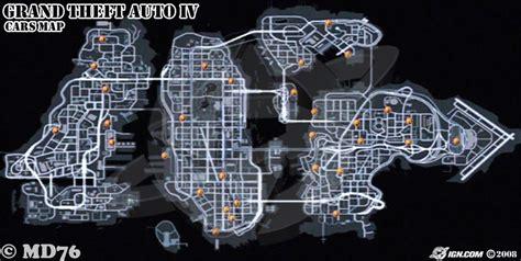 Gta 4 Auto Tuning Xbox 360 by Gta Iv Car Location Map