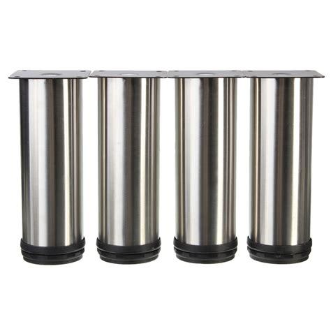 Stainless Steel Cabinet Legs 4pcs adjustable cabinet legs stainless steel kitchen