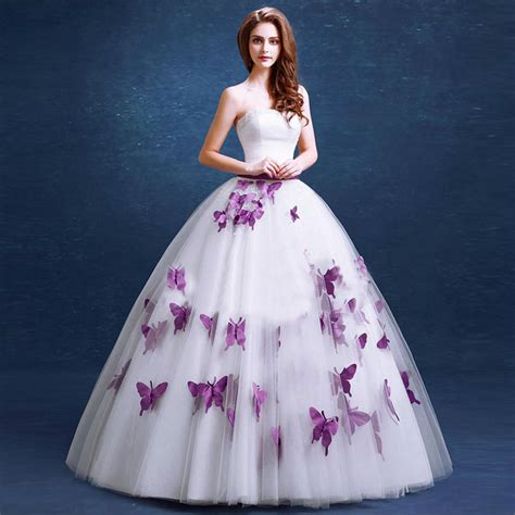 Purple Wedding Dresses Uk by Blue And Purple Wedding Dress Dress Uk