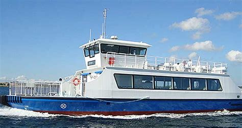 ferry electric this composite electric ferry carries 150 passengers
