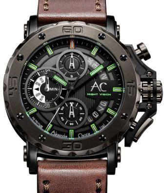 Jam Tangan Wanita Sport Digital Favorite Transparant Series alexandre christie h3 tritium vision chronograph 9201 diver pilot