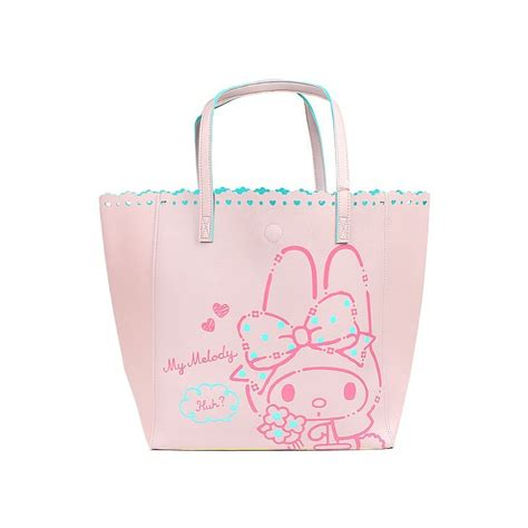 Tote Bag Melody my melody tote bag flower the shop