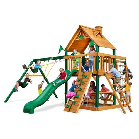 academy swing sets sportspower rosemead metal swing and slide set academy