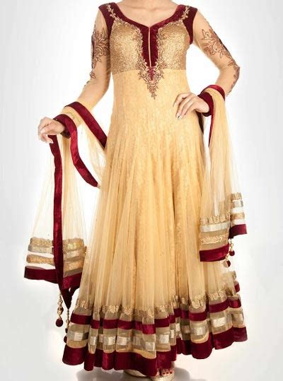 stylish designs new fashion anarkali frocks suit with churidar designs 2016