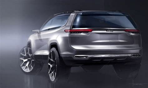 jeep compass 7 seater jeep yuntu concept teased hints at a new 7 seat plug in