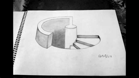 3d illusion l youtube how to draw 3d illusion pictures impremedia net