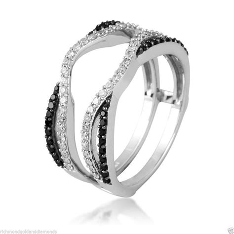 the sense of the white gold ring guard