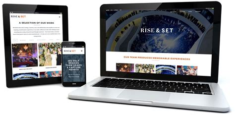 Rise Set rise set agency web site design pondsoup llc