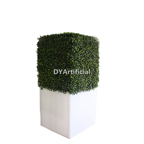 Hedge Planter Bag Small artificial boxwood hedge wall with letter logo dongyi