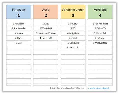 Etiketten Selbst Drucken Freeware by Ordnerr 252 Cken Vorlage Freeware De