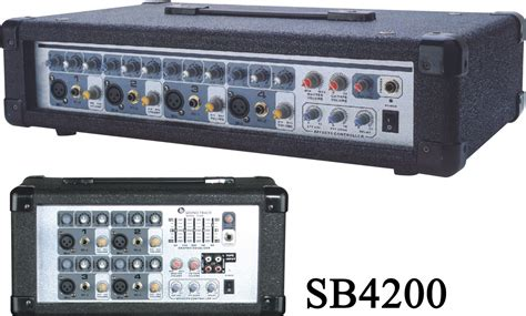 Mixer China 4 Channel china 4 channel cabinet powered audio mixer sb4200