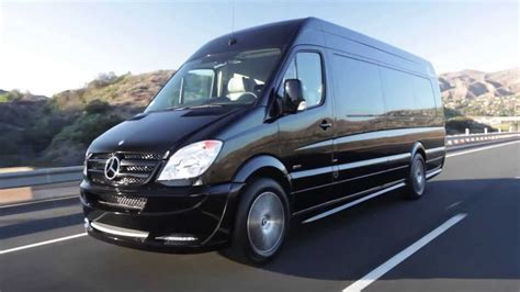 luxury mercedes van charter sprinter bus