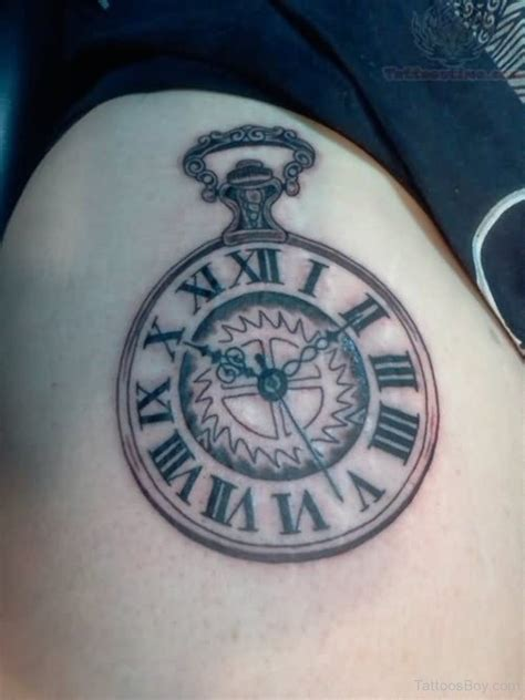 time clock tattoos clock tattoos designs pictures page 13