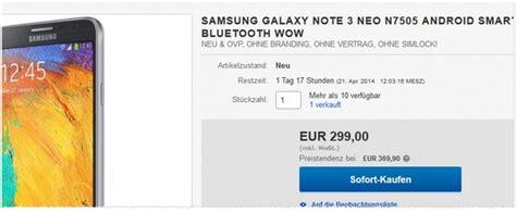 Samsung Galaxy Note 10 Vertrag by Samsung Galaxy Note 3 Gebraucht Preis Ohne Vertrag 333