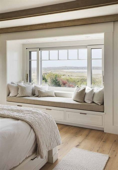 bedroom window seat ideas gorgeous house in massachusetts with barn like