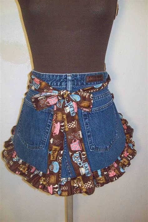 Appron Celemek Denim 419 best images about upcycled denim on jean apron denim skirts and denim jackets