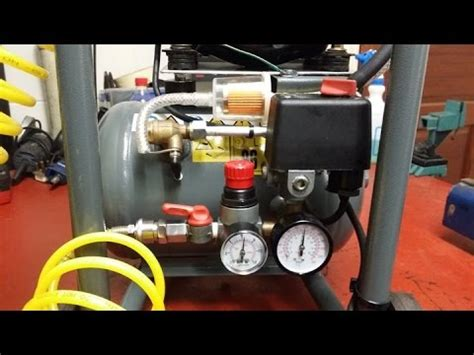 how to build a silent air compressor for 20 diy