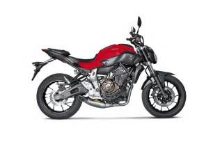 Akrapovic Titanium Exhaust System Yamaha Mt 07 Akrapovic Yamaha Mt 07 Motorrad News