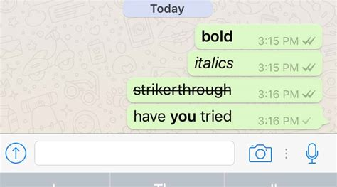 format whatsapp font whatsapp s top tips and tricks did you know about these
